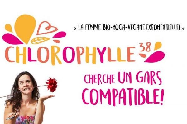 JACINTHE LAFORTE   CHLOROPHYLLE 38 CHERCHE UN GARS COMPATIBLE