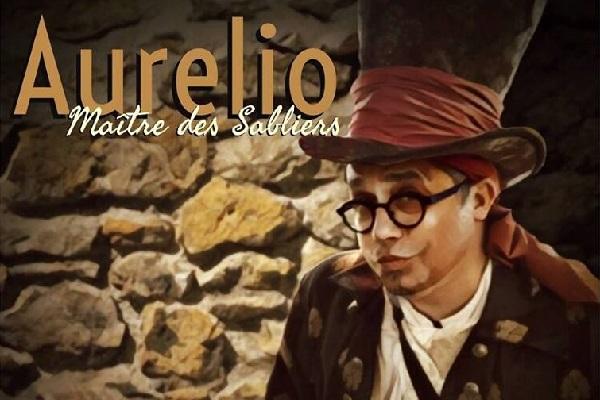 HEURE DU CONTE | AURÉLIO MAÎTRE DES SABLIERS
