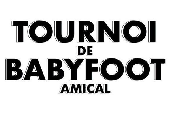 TOURNOI DE BABYFOOT AMICALE
