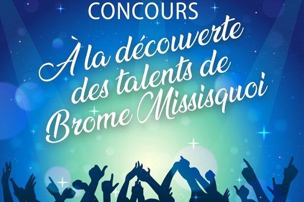 CONCOURS À LA DÉCOUVERTE DES TALENTS DE BROME-MISSISQUOI