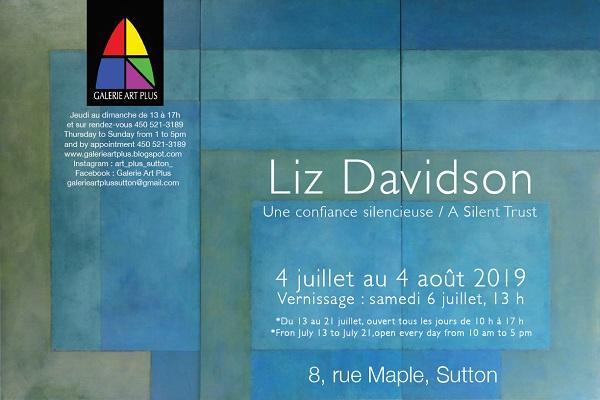 LIZ DAVIDSON | UNE CONFIANCE SILENCIEUSE