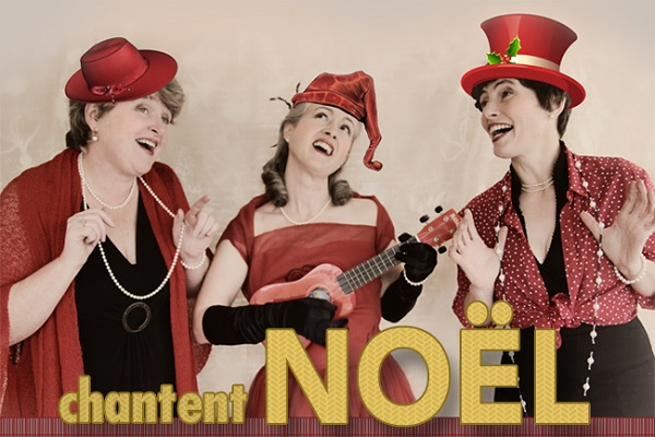 HONEYSUCKLE SISTERS CHANTENT NOËL