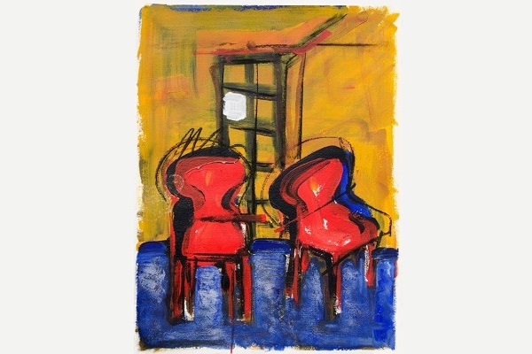 AXEL BUSSMEYER | TWO RED CHAIRS