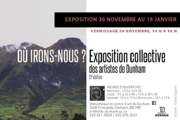 EXPOSITION COLLECTIVE | OÙ IRONS-NOUS?