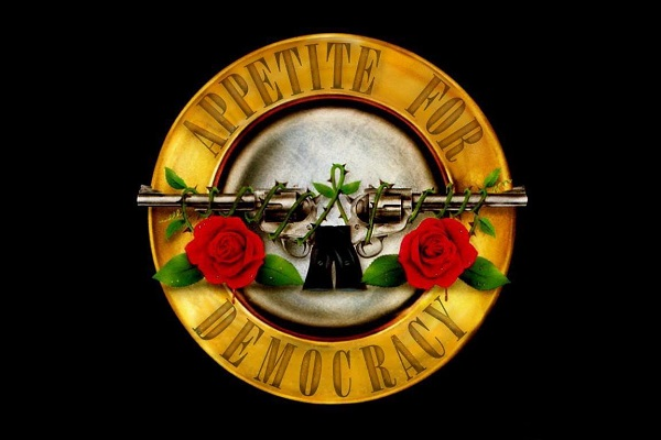APPETITE FOR DEMOCRACY | HOMMAGE À GUNS N'ROSES