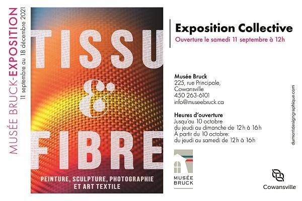 EXPOSITION COLLECTIVE TISSU & FIBRE