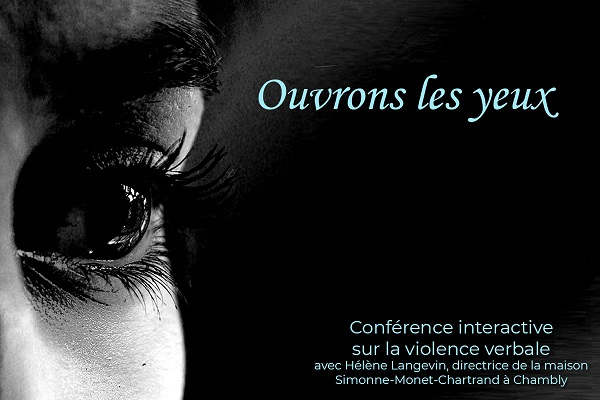 HÉLÈNE LANGEVIN | OUVRONS LES YEUX